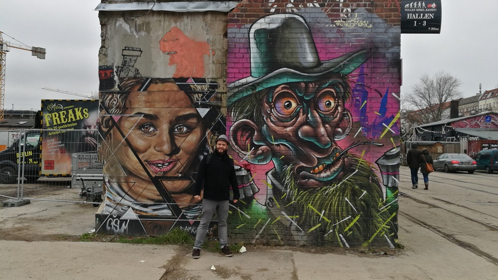 Berlini Kocsmatúra - RAW Gelände Graffiti - Kocsmaturista