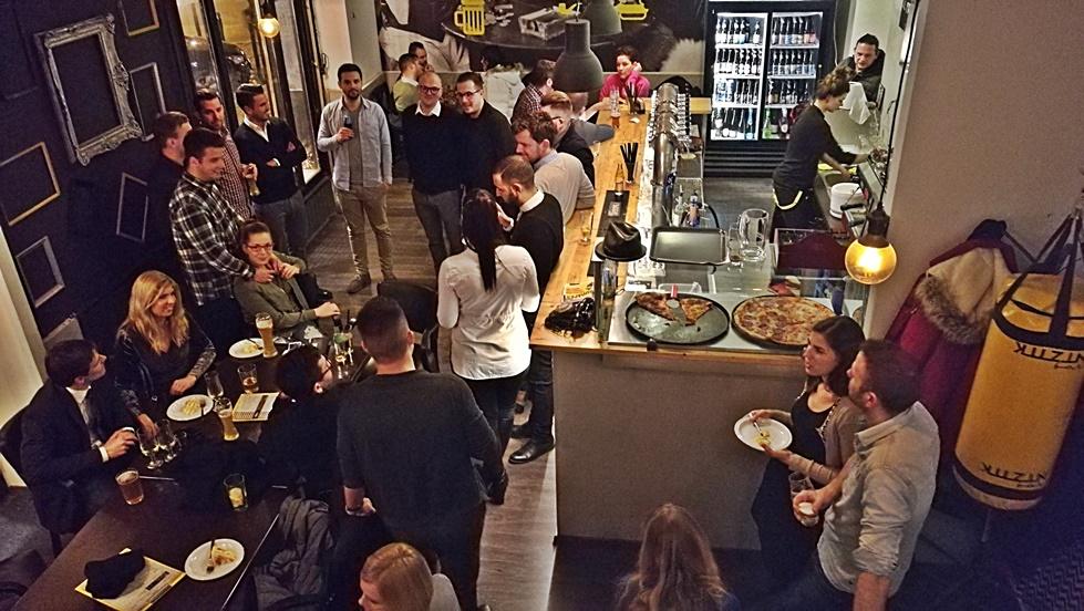 KUZIN Bar a galériáról - Kocsmaturista