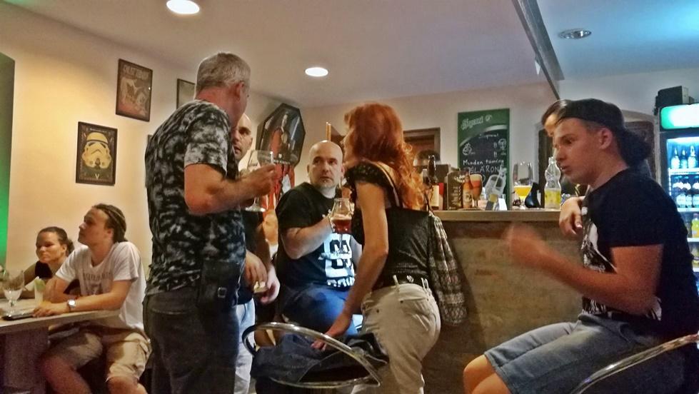 Tatooine Drink Bar Győr - Búcsúbuli - Kocsmaturista