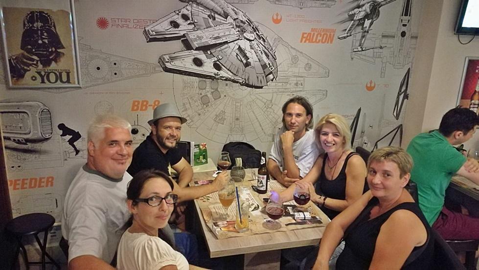 Tatooine Drink Bar, Győr - Búcsúbuli képei Nr. 03 - Kocsmaturista