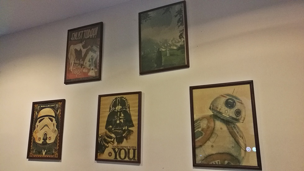 Tatooine Drink Bar, Győr - Fali képek - Kocsmaturista