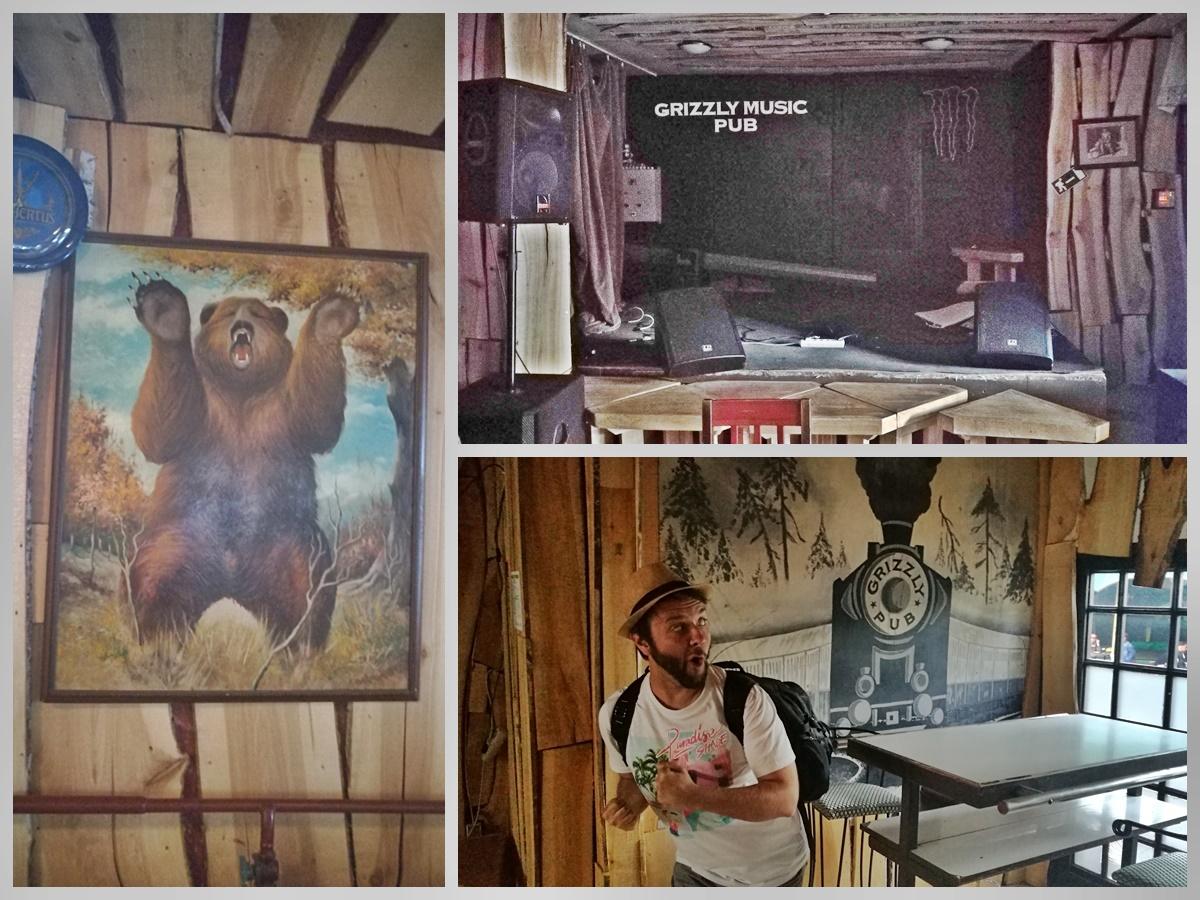 Miskolc kocsmái - Grizzly Music Pub fali képek és koncetterem - Kocsmaturista