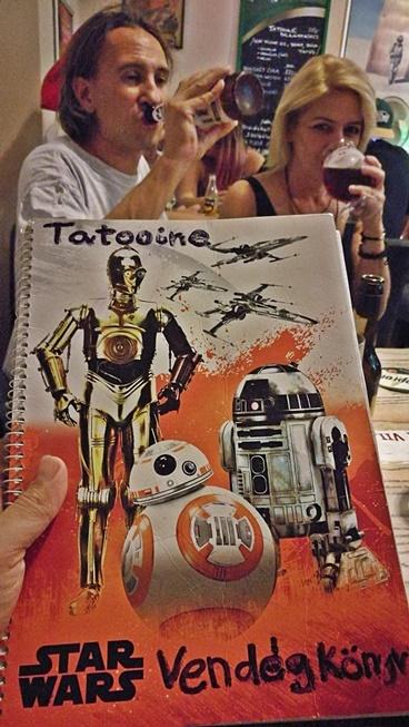 Tatooine Drink Bar - vendégkönyv - Kocsmaturista