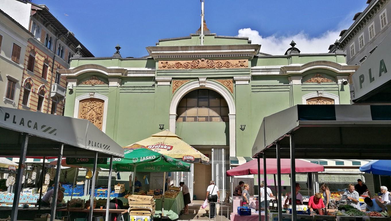 A Központi Piac 2 - Helikopter nélkül Fiumében - Rijeka - Kocsmaturista