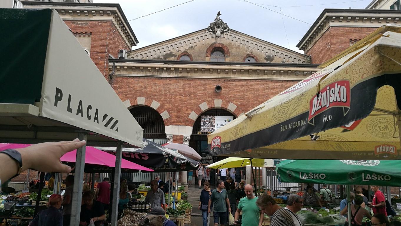 A Központi Piac - Helikopter nélkül Fiumében - Rijeka - Kocsmaturista