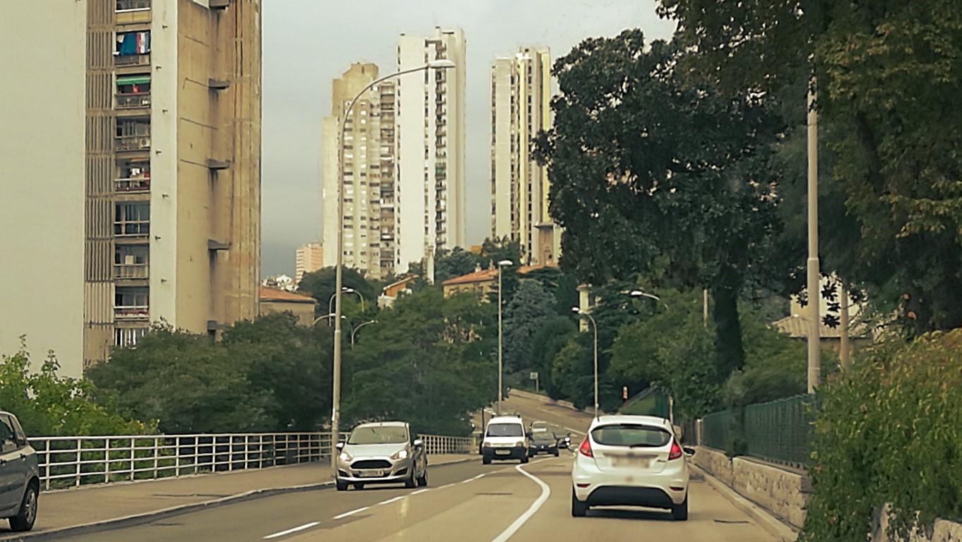 25 emeletes toronypanelházak - Helikopter nélkül Fiumében - Rijeka - Kocsmaturista