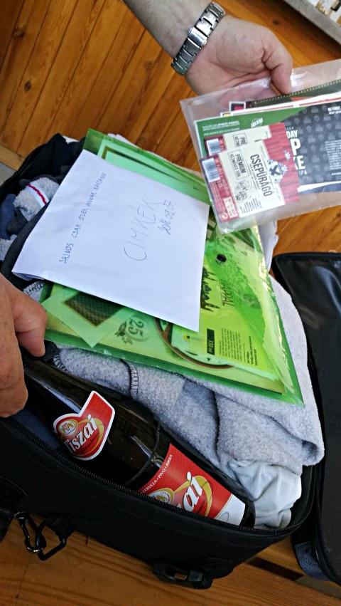 Kocsmalátogatások a Magyarországi Sörcikkgyűjtő Klubbal - Fehér Nyúl Brewery - Csere közbe: Békésszentandrási Szent András sörfőzde egykori Csepürágó címkéje és Tiszai sör akcióban