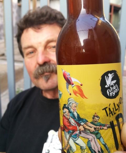 Kocsmalátogatások a Magyarországi Sörcikkgyűjtő Klubbal - Fehér Nyúl Brewery - Kocsmaturista