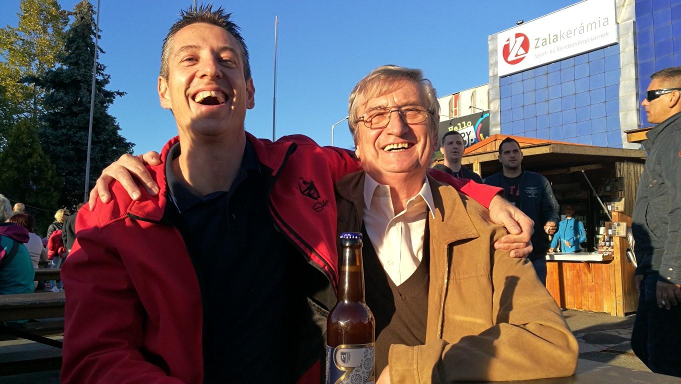 Zegi sör bemutató - Elekes apa és fia - Kocsmaturista