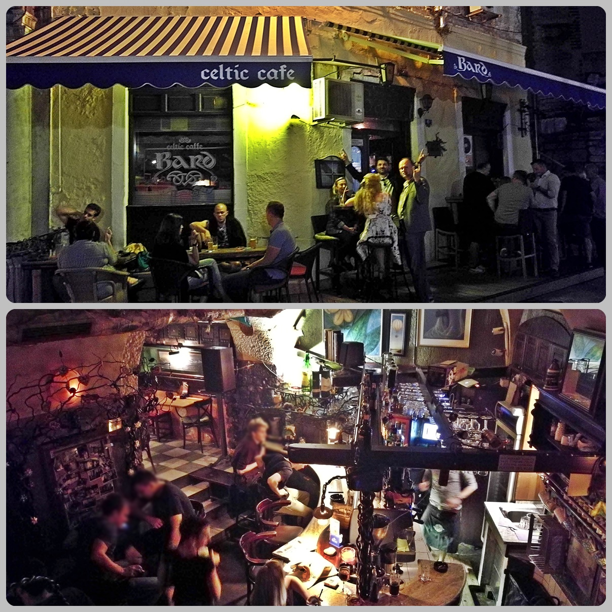 Bard Celtic Cafe - Helikopter nélkül Fiumében - Rijeka - Kocsmaturista