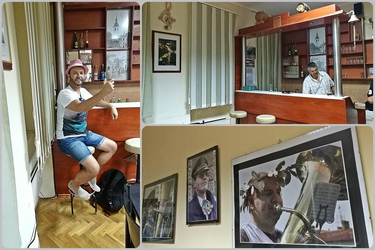 """A Gradska Glazba """"Trsat"""" fúvós zenekar privátkocsmájában - Helikopter nélkül Fiumében - Rijeka - Kocsmaturista"""