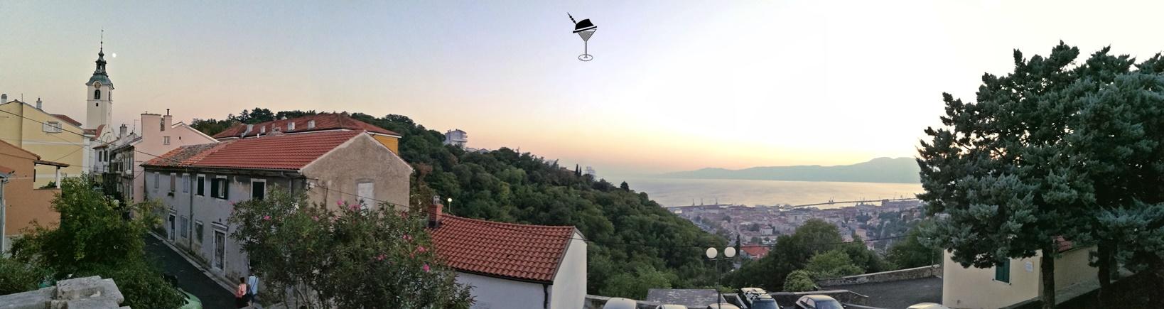 Helikopter nélkül Fiumében - Rijeka - Kocsmaturista - Trsat panoráma