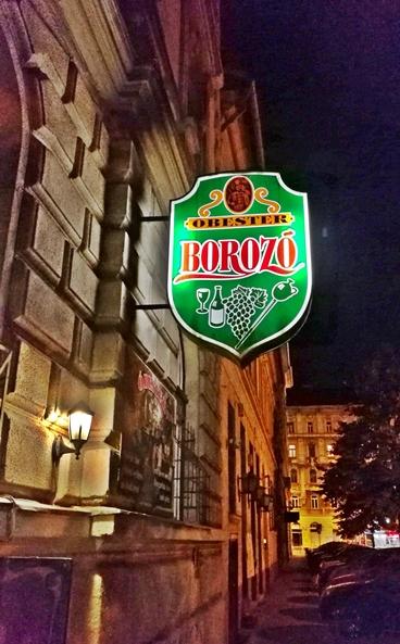 Óbester Borozó Budapest - Kocsmaturista