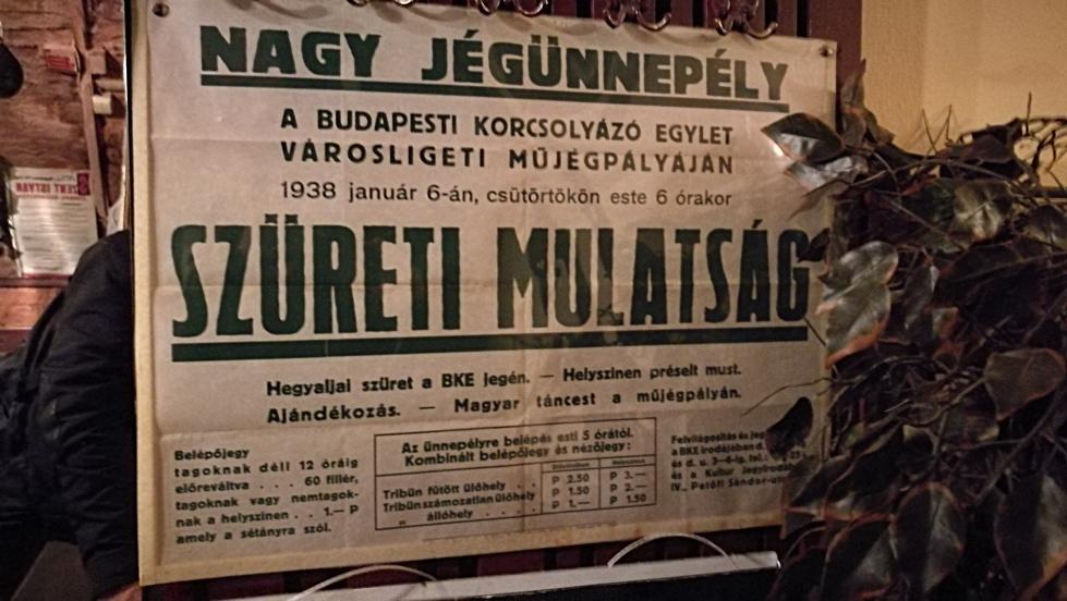 Óbester Borozó Budapest, 1938 szüreti mulatság - Kocsmaturista