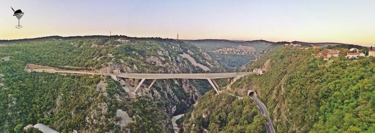 Trsat Alagút, Kanyon, Viadukt - Helikopter nélkül fiumében - Rijeka - kocsmaturista