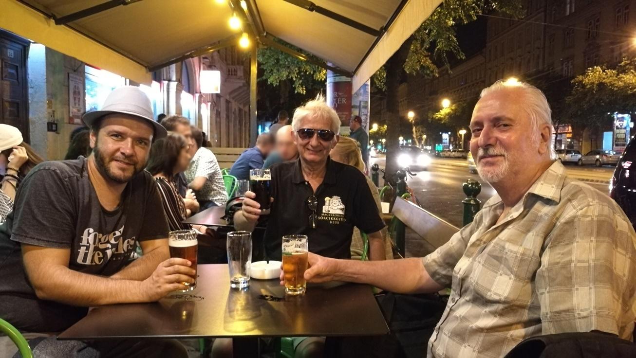 Kocsmalátogatások a Magyarországi Sörcikkgyűjtő Klubbal - Rizmajer Sörház Blaha