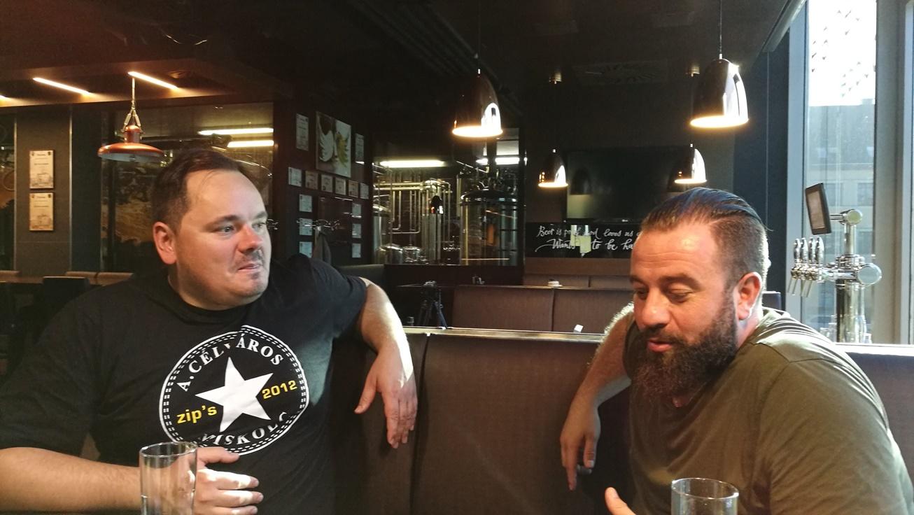Séf Sörsorozat a zip'snél - Pataky Peti, kreatív séf és Halász Norbi, étterem vezető