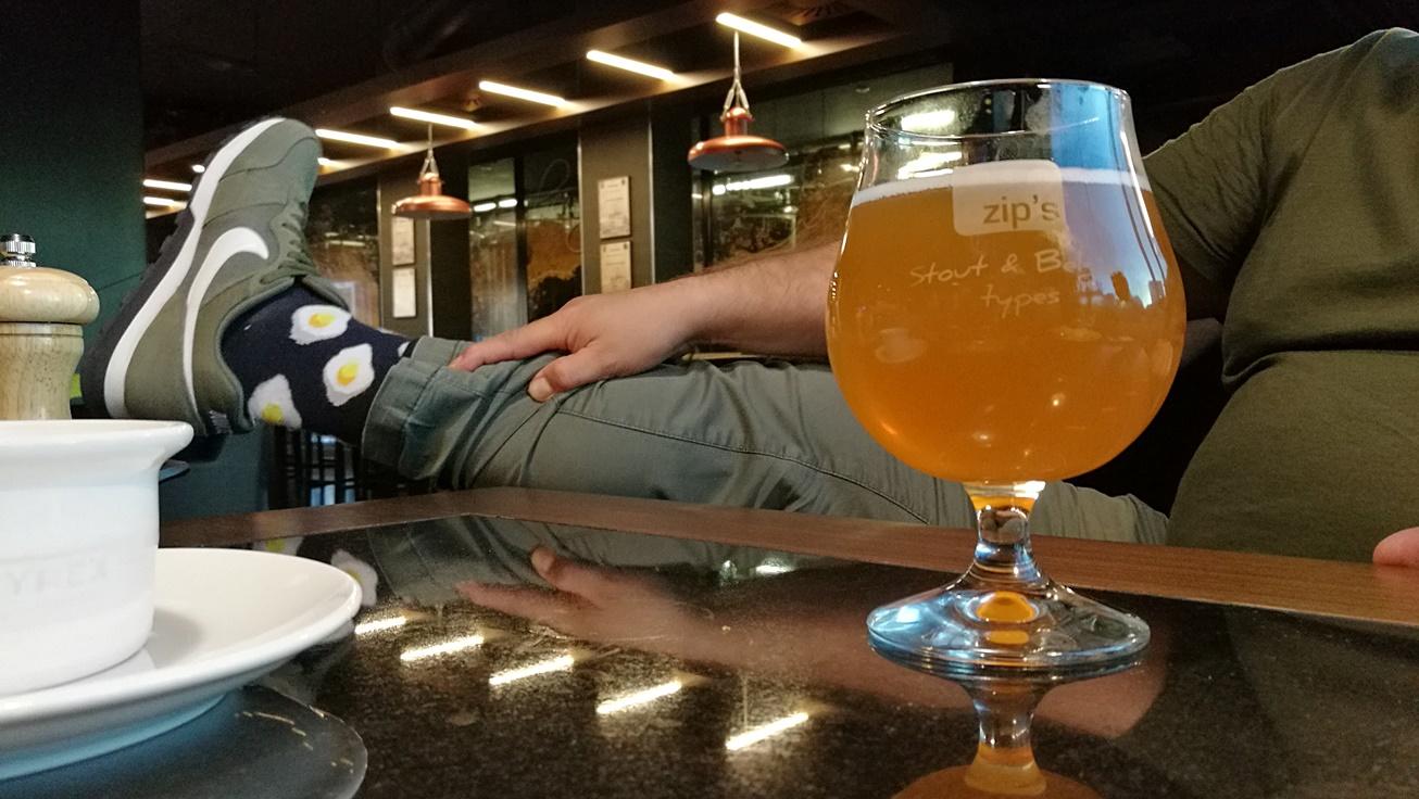 Séf sörsorozat a zip'snél - backstage: a szünetben - Kocsmaturista