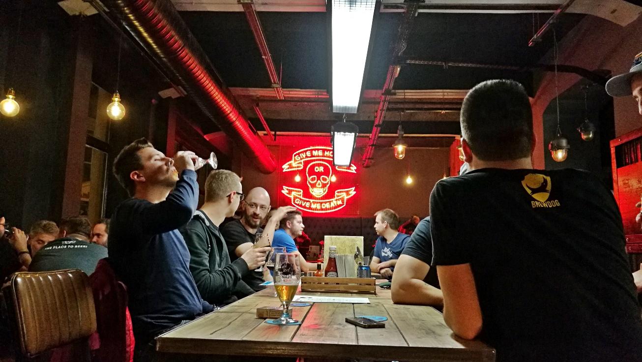 BrewDog Budapest beltér - Kocsmaturista