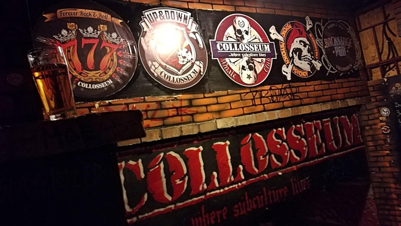 Colossueum Club - Kassa - Kocsmaturista - a tegnap éjjel maradványa