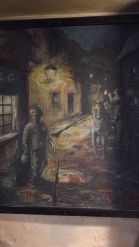 Kocsmaturista - Pivovar Golem, Kassa - Festmények is találhatók