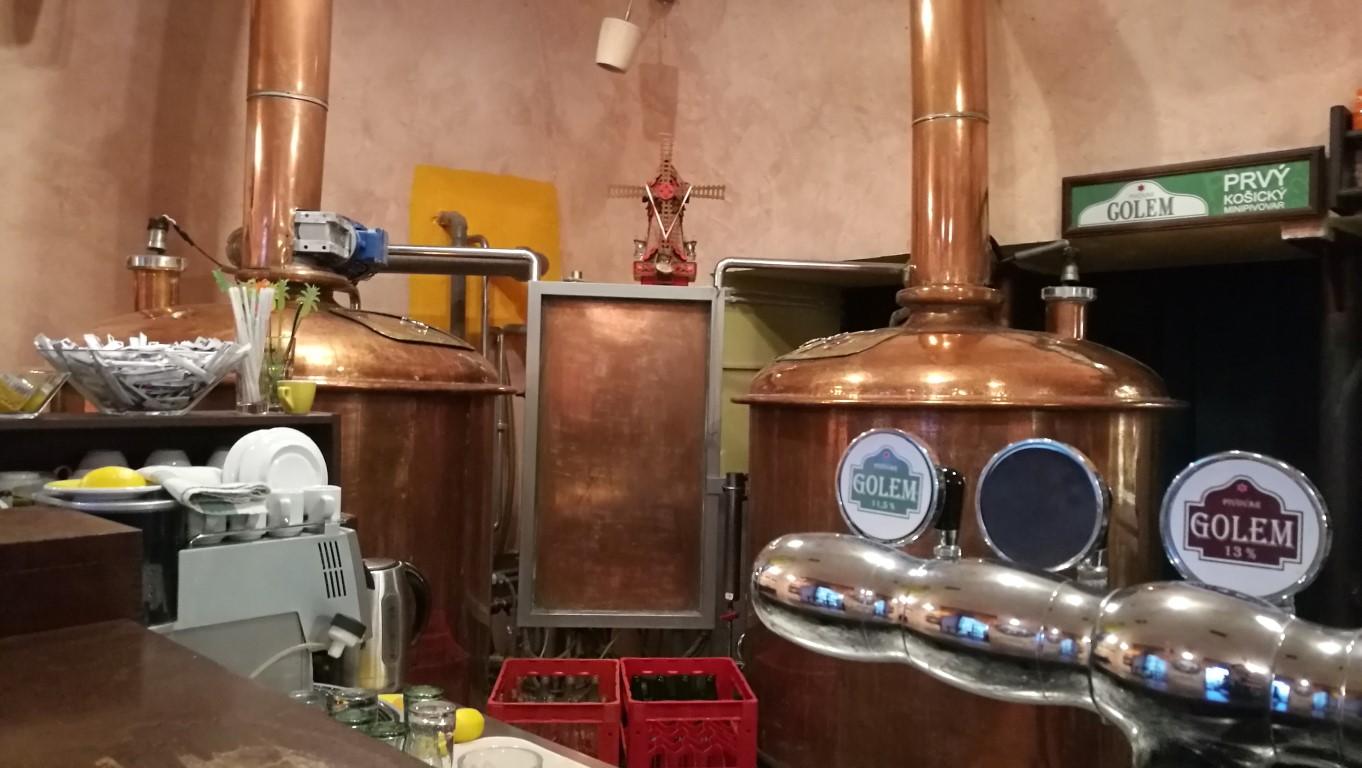 Pivovar Golem, Kassa - Kocsmaturista 10