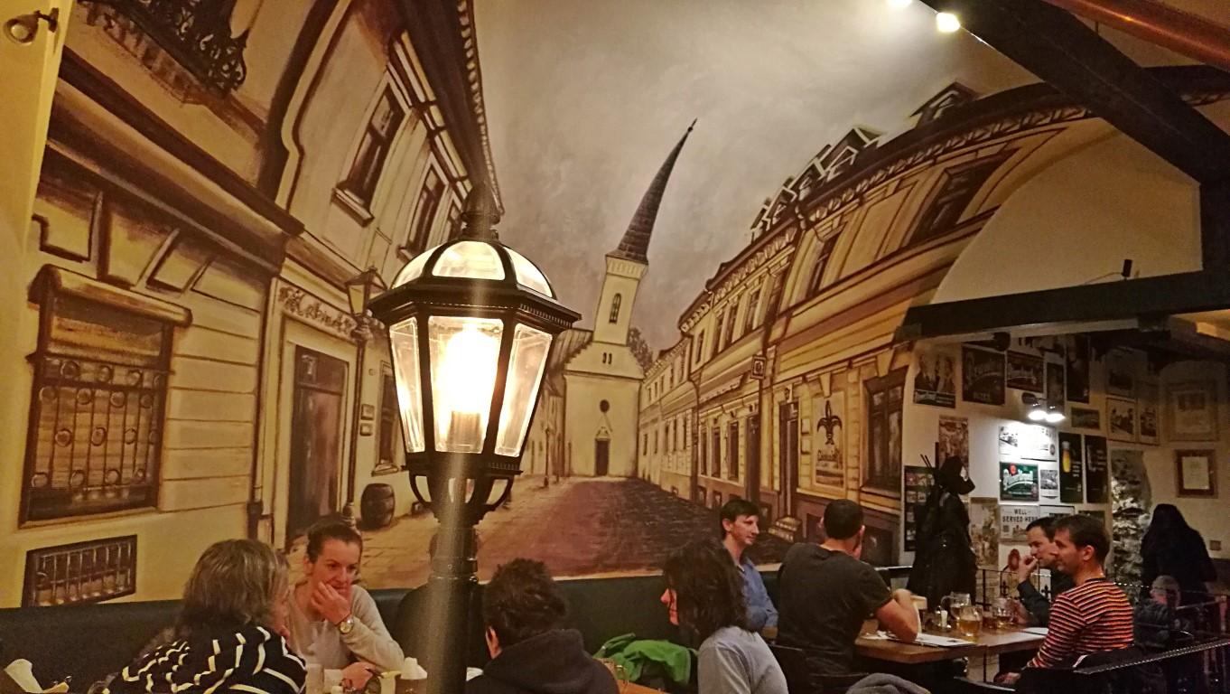 Camelot Pilsner Pub és Középkori Étterem, Kassa - Kocsmaturista - falfestmeny