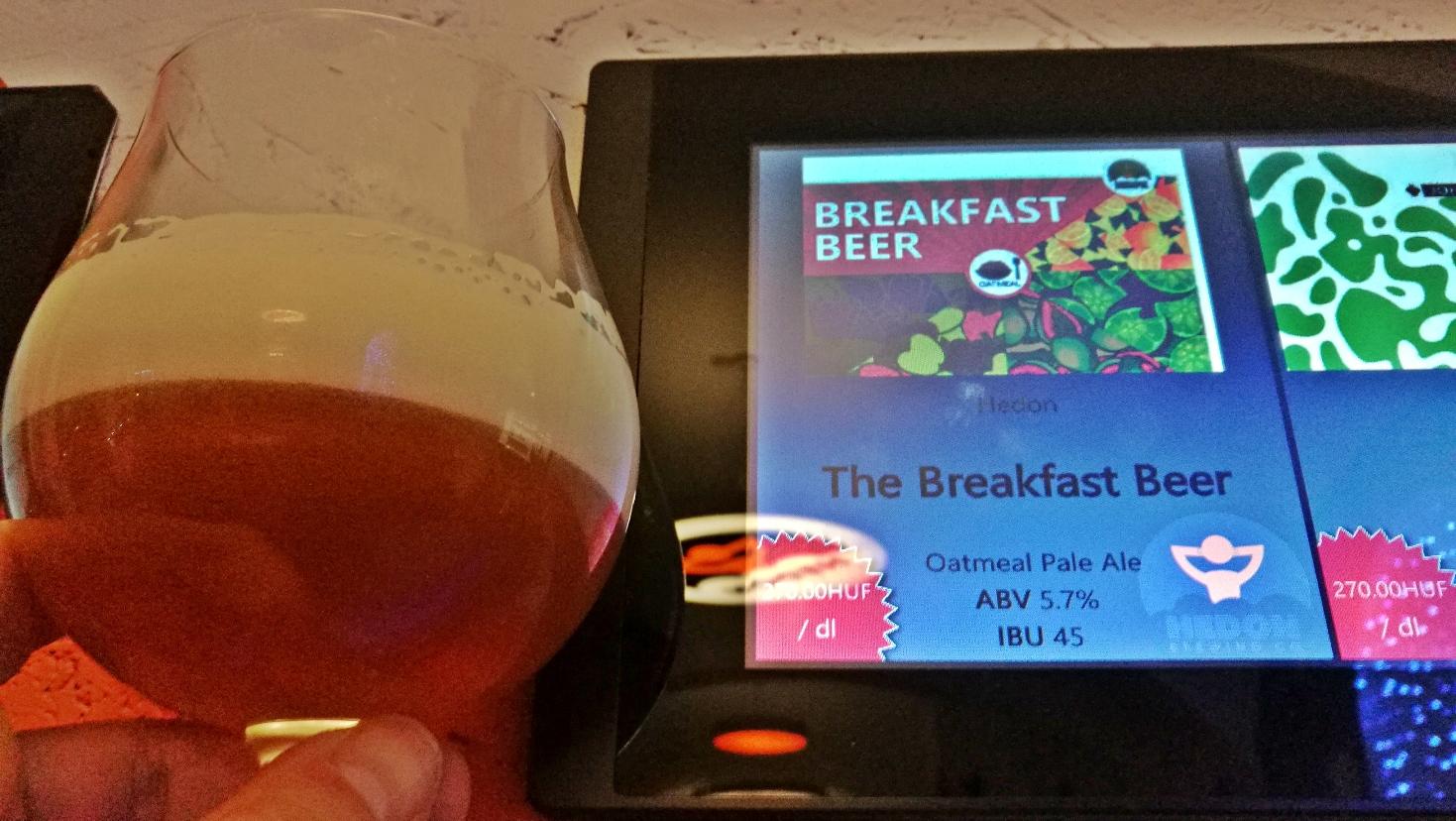 """Hedon The Breakfast Beer - Kipróbált Kisüzemi """"Kézműves"""" Kraft Craft Sörök Folyama"""