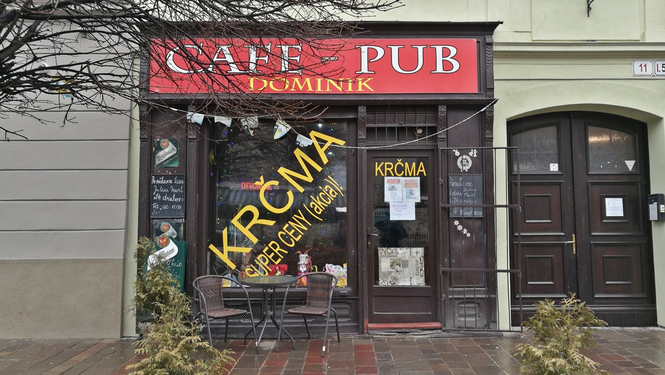 Kassai kocsmaélet alakulása - Kocsmaturista - Café Pub Dominik