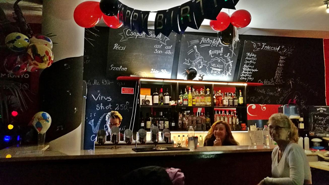 Virus Club - Budapest, 7. kerület - Kocsmaturista - Mosollyal követett fellépés