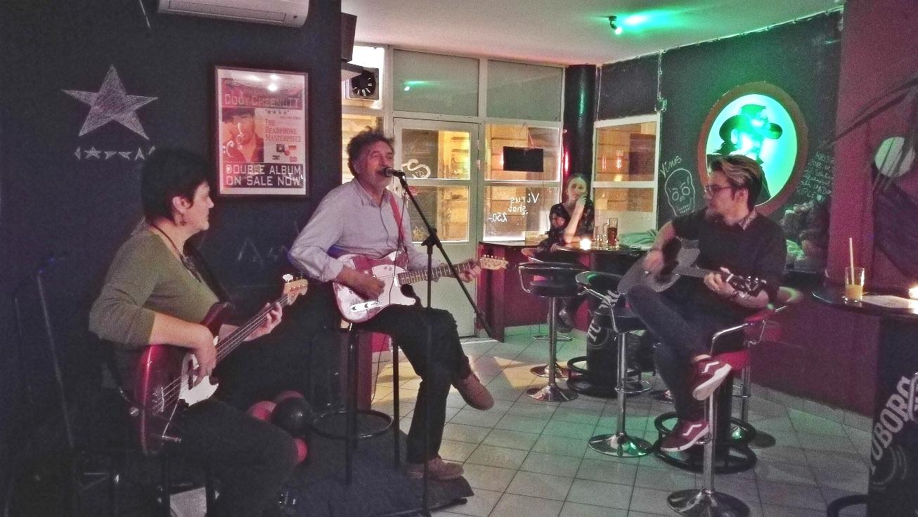 Virus Club, Budapest 7. kerület - Kocsmaturista - Patron Rock Band és Szokoly Csaba