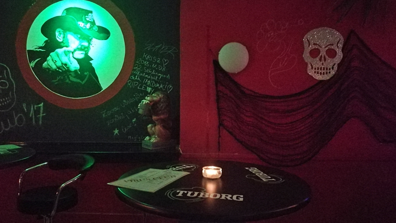 Virus Club - Budapest, 7. kerület - Kocsmaturista - Lemmy Kilmeister, a Motorhead énekese