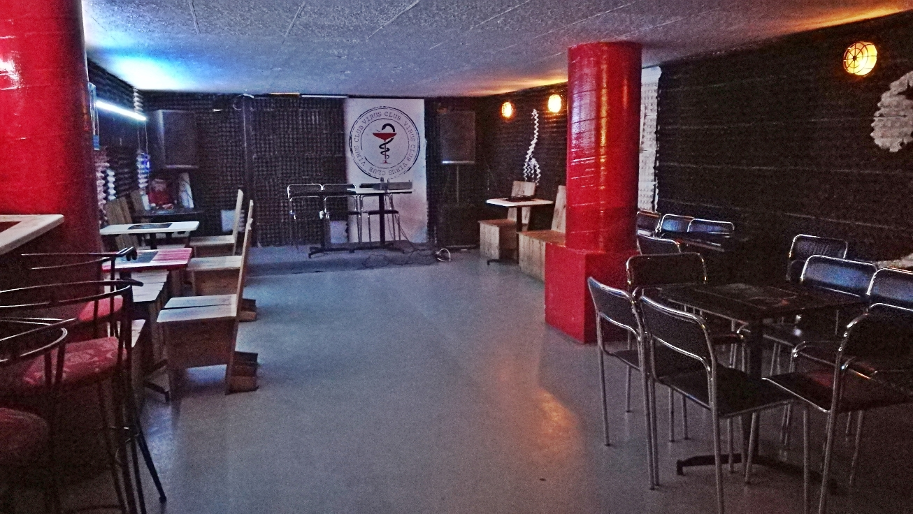 Virus Club - Budapest, 7. kerület - Kocsmaturista - Lenti próbaterem