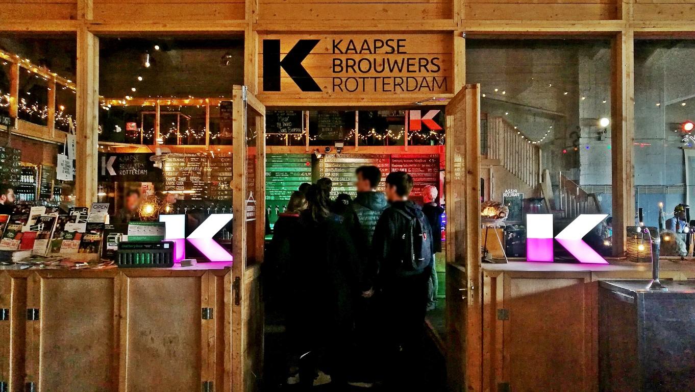 Rotterdam - Katendrecht - Kocsmaturista - Fenix Food Factory -Kaapse Brouwers Proeflokaal 001