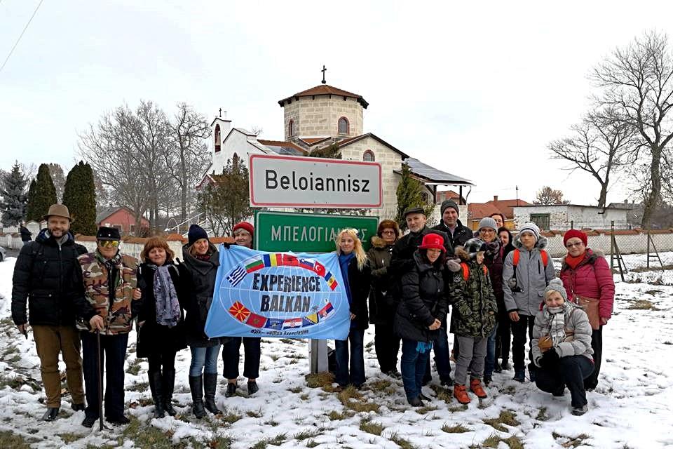 Az Experience Balkan csapat Beloianniszban - Kocsmaturista
