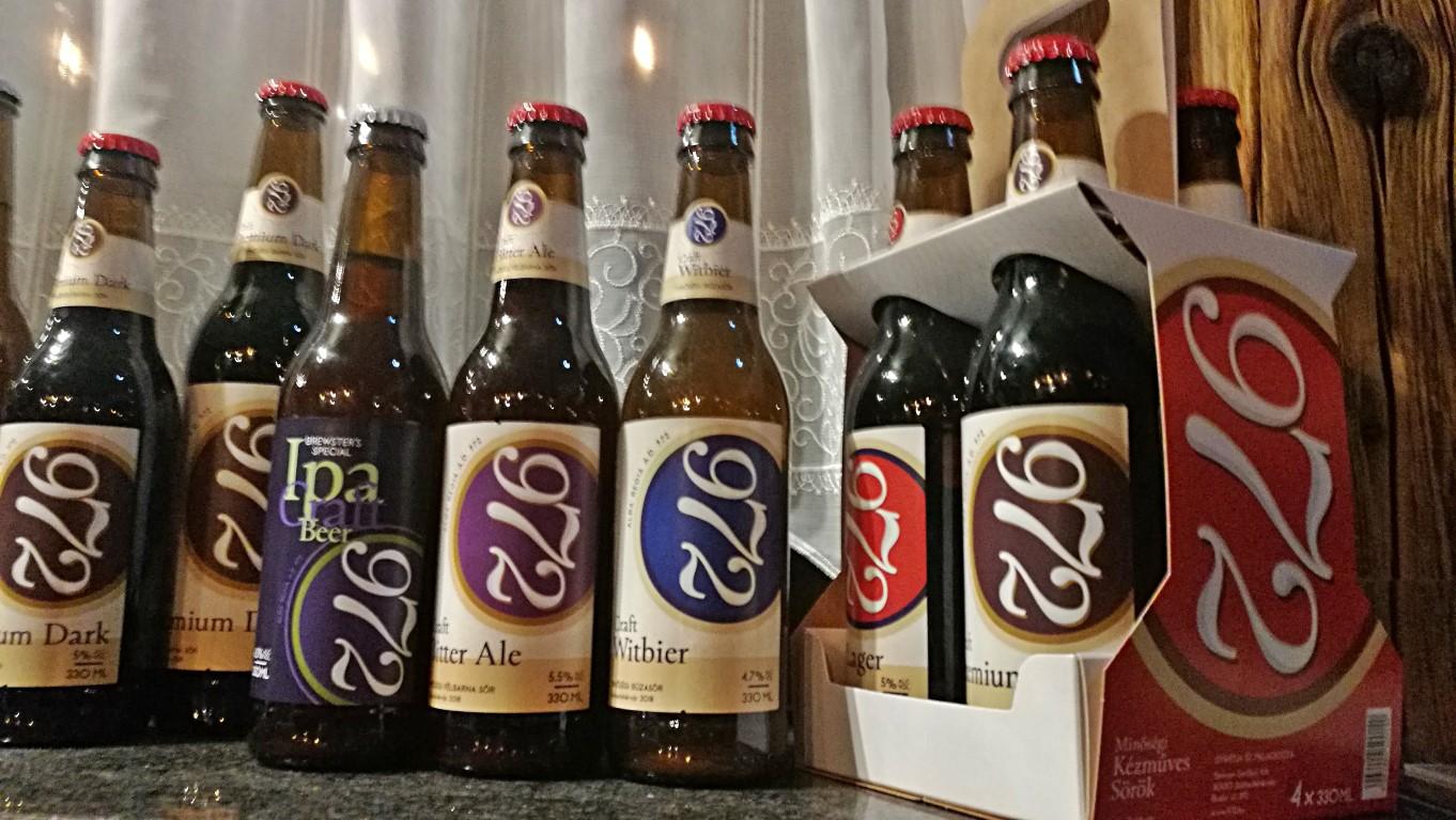 972 Brewpub - Székesfehérvár - A sörök - Kocsmaturista