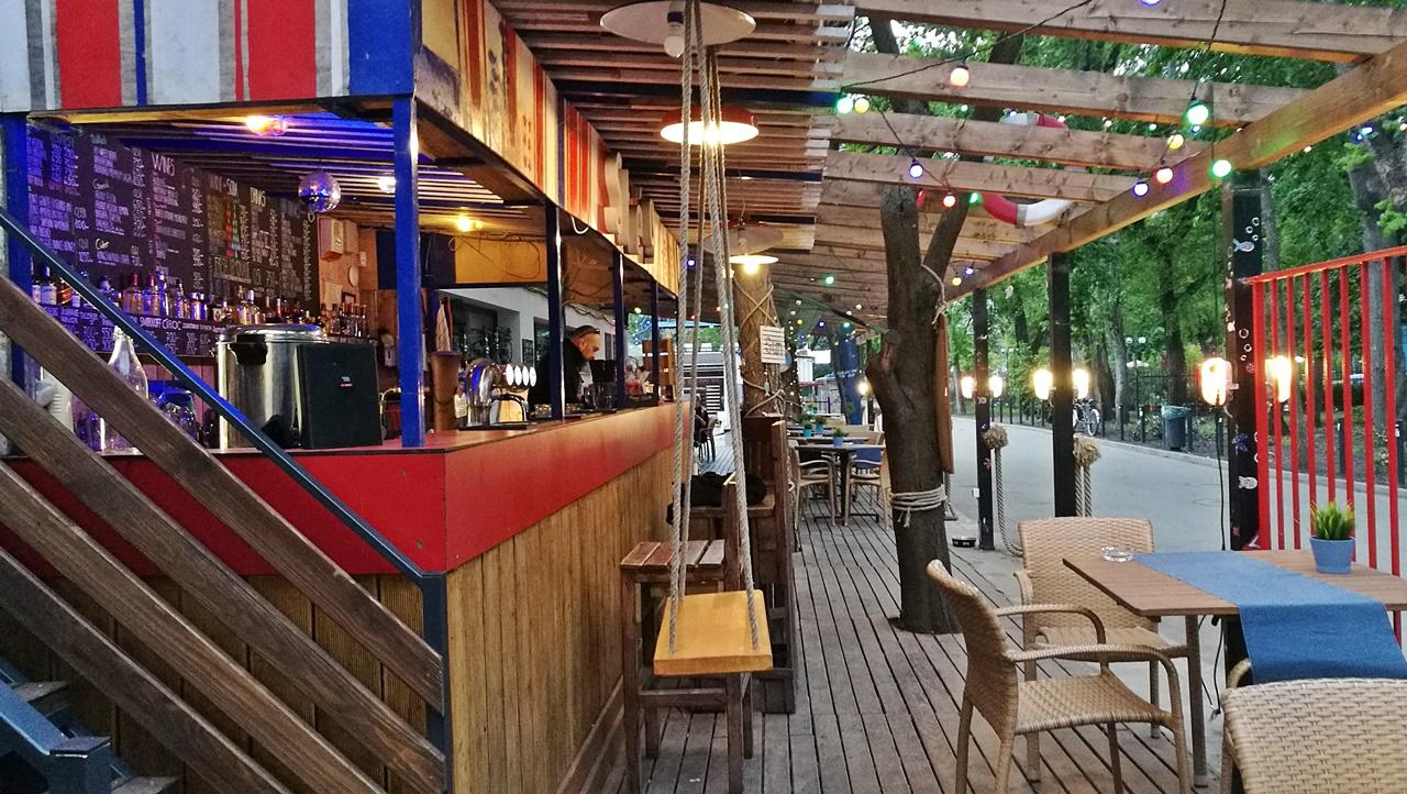 Van Nálatok Terasz!!! - Stég Pub, Margit-sziget, Budapest - ocsmaturista