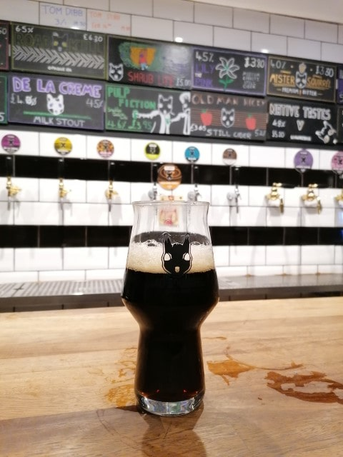 Mad Squirrel Taproom & Bottleshop, Chesma, Anglia - Kocsmaturista 06
