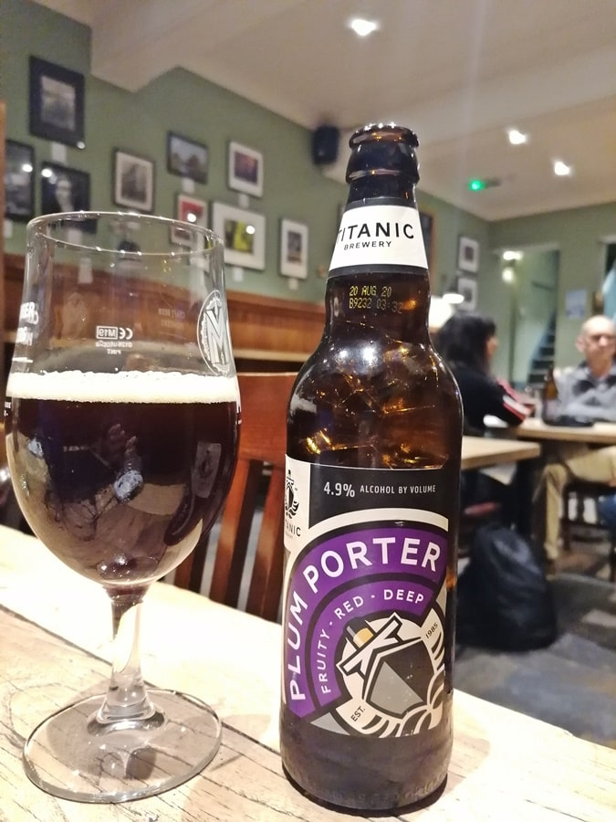 Titanic Brewery - Plum Porter - Greenwhich Union, London - Kocsmaturista